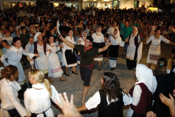 Festival of Karavolas at Lefkes